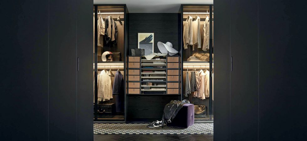 Poliform inloopkast walk-in closet
