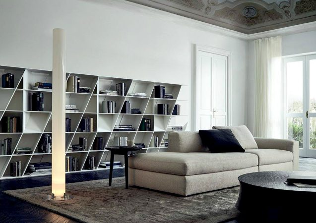 VITA DI LUSSO Poliform bookshelve Web