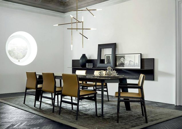 VITA DI LUSSO Poliform dining table Howard
