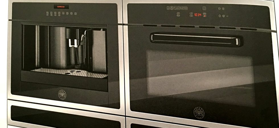 VITA DI LUSSO Interview Bertazzoni electric oven and coffee