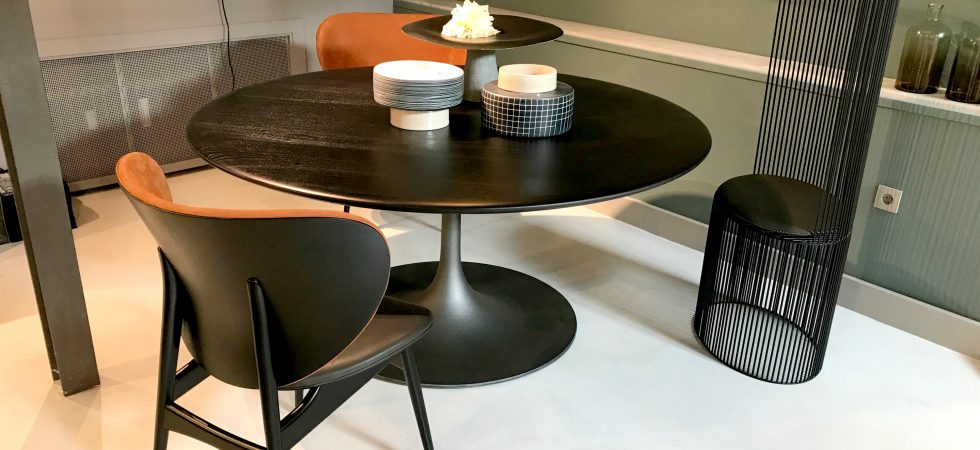 VITA DI LUSSO Baxter Flagshipstore dining