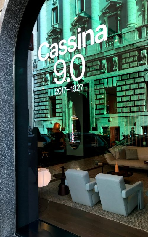 LEEM WONEN Cassina Office Wannahaves showroom