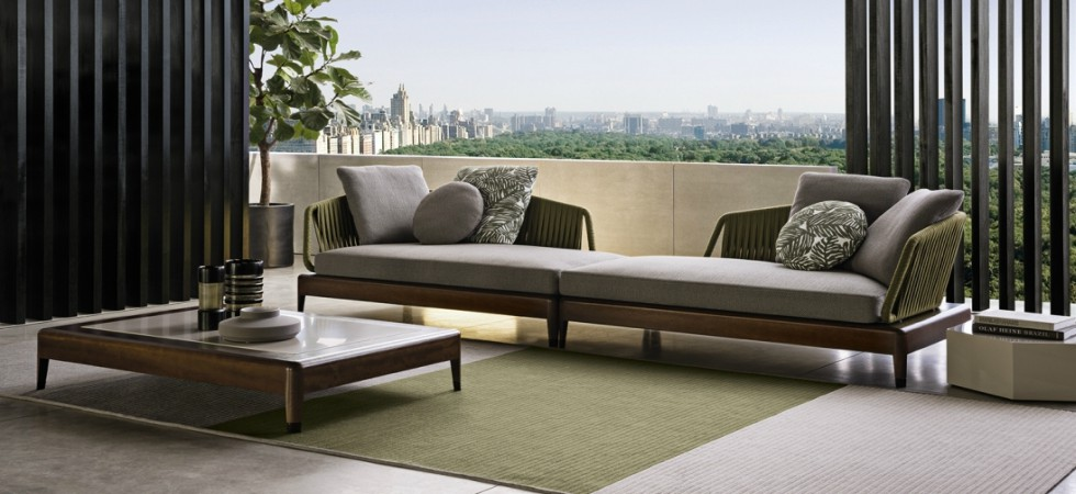 VITA DI LUSSO Minotti outdoor Indiana coffee table