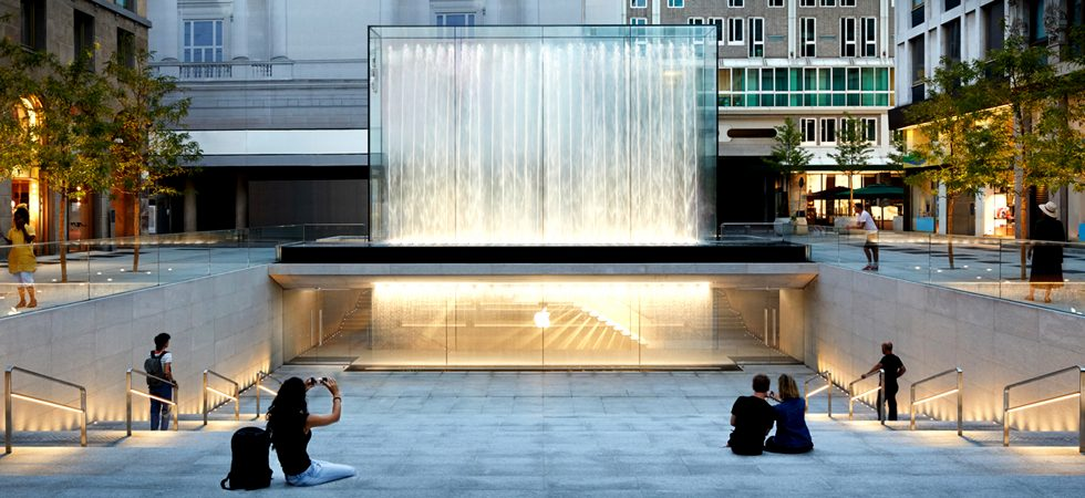 LEEM WONEN Apple Piazza Liberty water wall