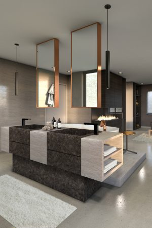LEEM WONEN C'avante Interior & Design bathroom