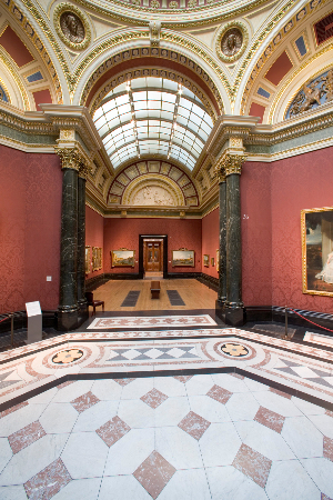 LEEM WONEN Artemisia Gentilischi National Gallery London corridors