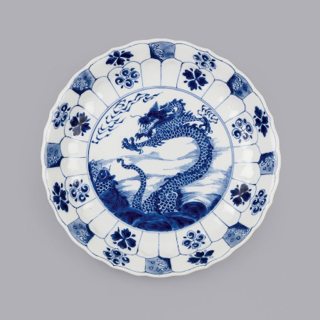 LEEM WONEN kitchen art A dish with a dragon